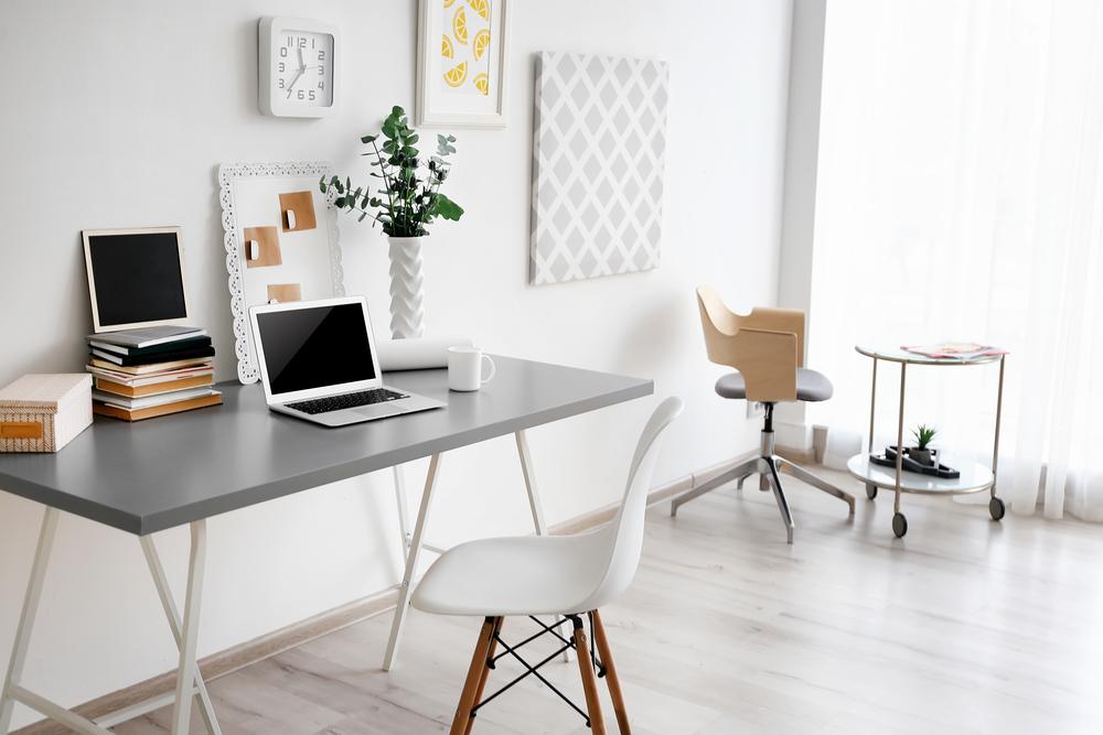 Beispielhafte Arbeitsumgebung eines Design Freelancers